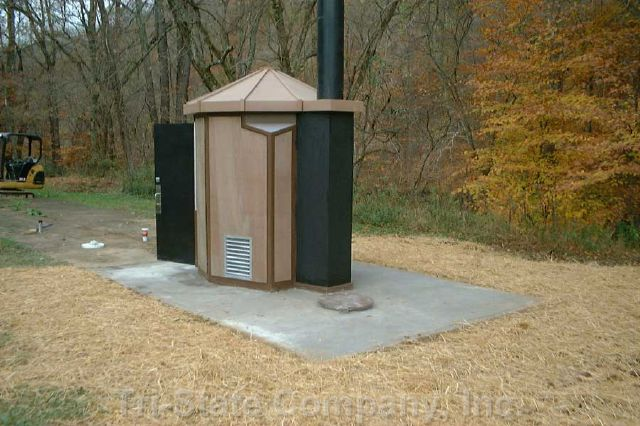 Camp Arrowhead Latrine