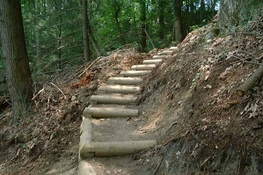 Simpson Trail, Crib Steps